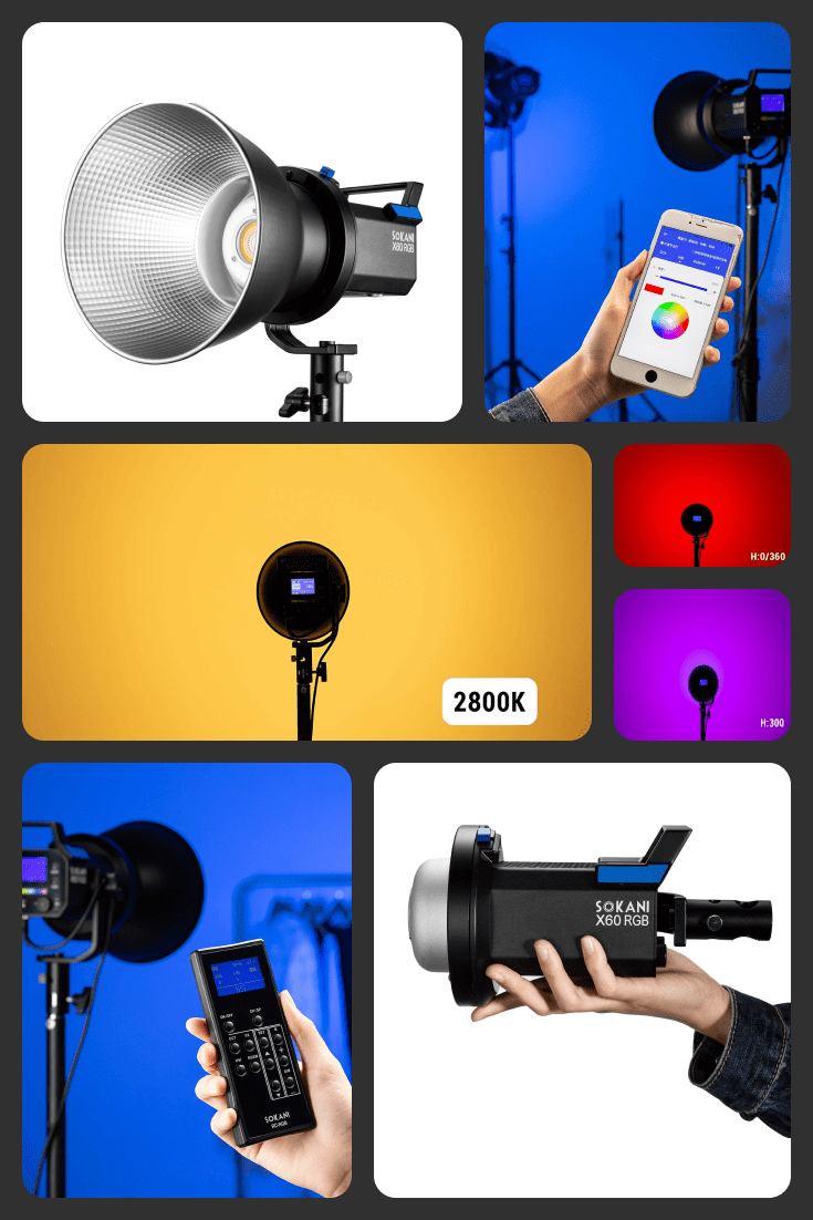 A necessary and useful tool for photographers. It can work in 4 lighting modes.
