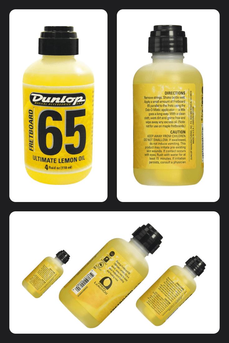 Dunlop Ultimate Lemon Oil.