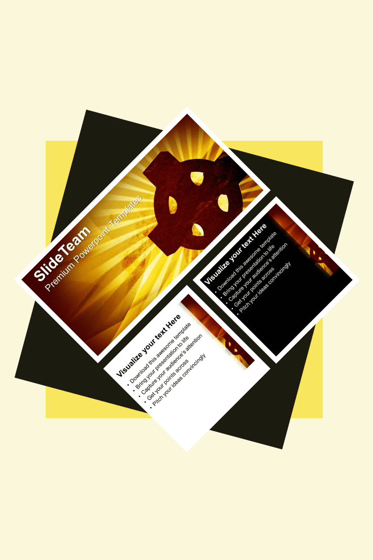 The black and yellow background creates the effect of a sunset. This cozy theme will bring a special atmosphere.