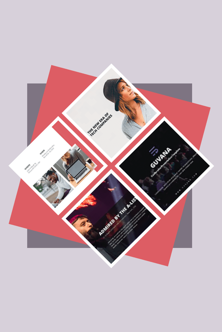 The main color of this theme is salmon. It is sophisticated and original, and the topic itself is fashionable and relevant.