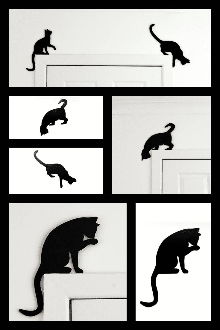 There are no many cats. To dilute your interior with fittings in the shape of cats is a great solution.