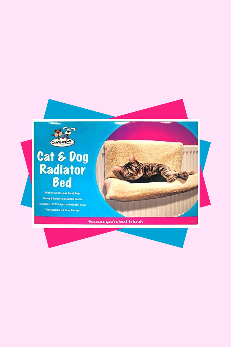 If your cat loves to bask on batteries, then this accessory is for you. Soft gummock that will save your cat from burns and give comfort.
