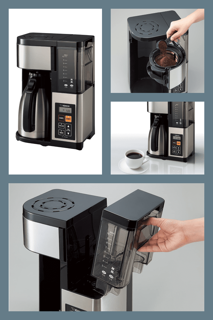 Multifunctional coffee machine. It will save you time and money on buying coffee at the nearest cafe.