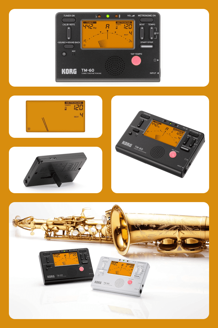 It is the newest model and features a larger display that can show the tuner and metronome simultaneously.