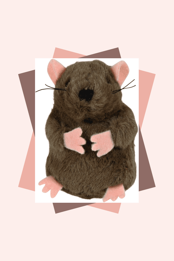 Cats love mice, which means this plush toy in the shape of a mouse will be a good gift.