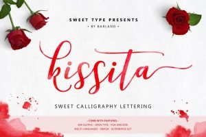 A hand painted typeface.