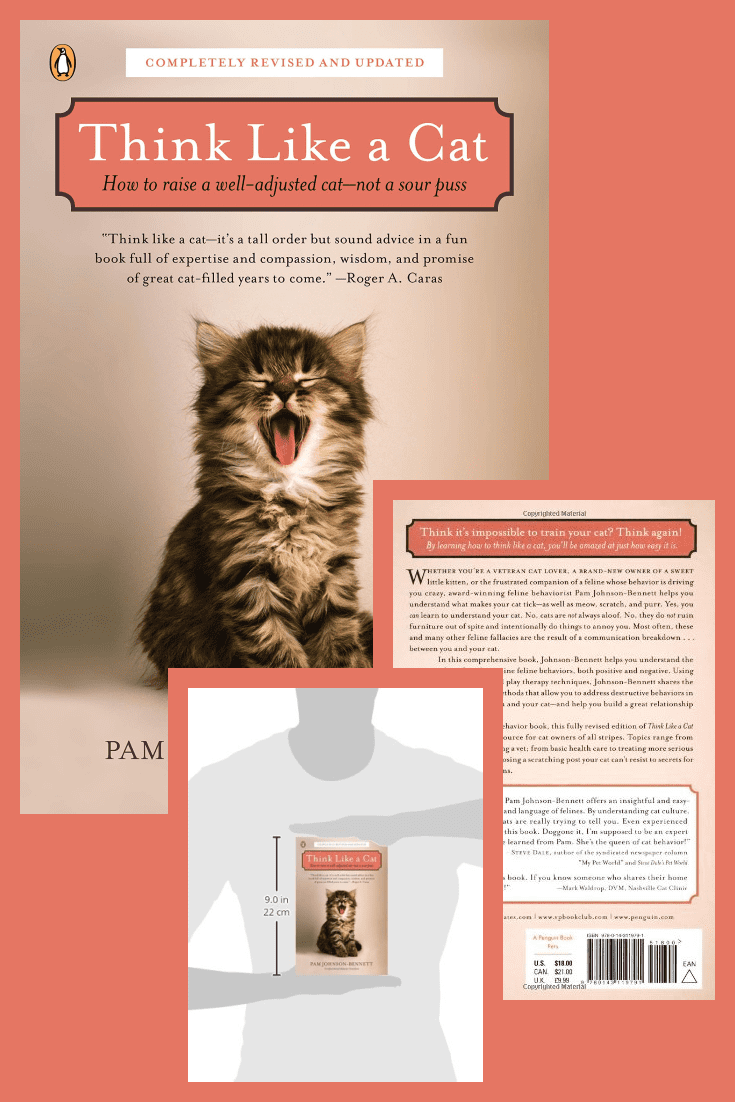 A book to better understand your pet and the cat's world in general.