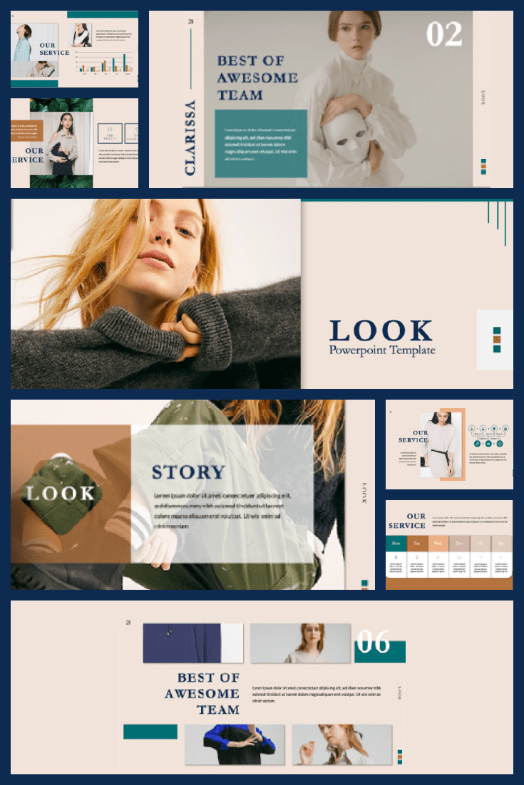 A very stylish, soft and atmospheric theme. It is creative and will accommodate all your material.