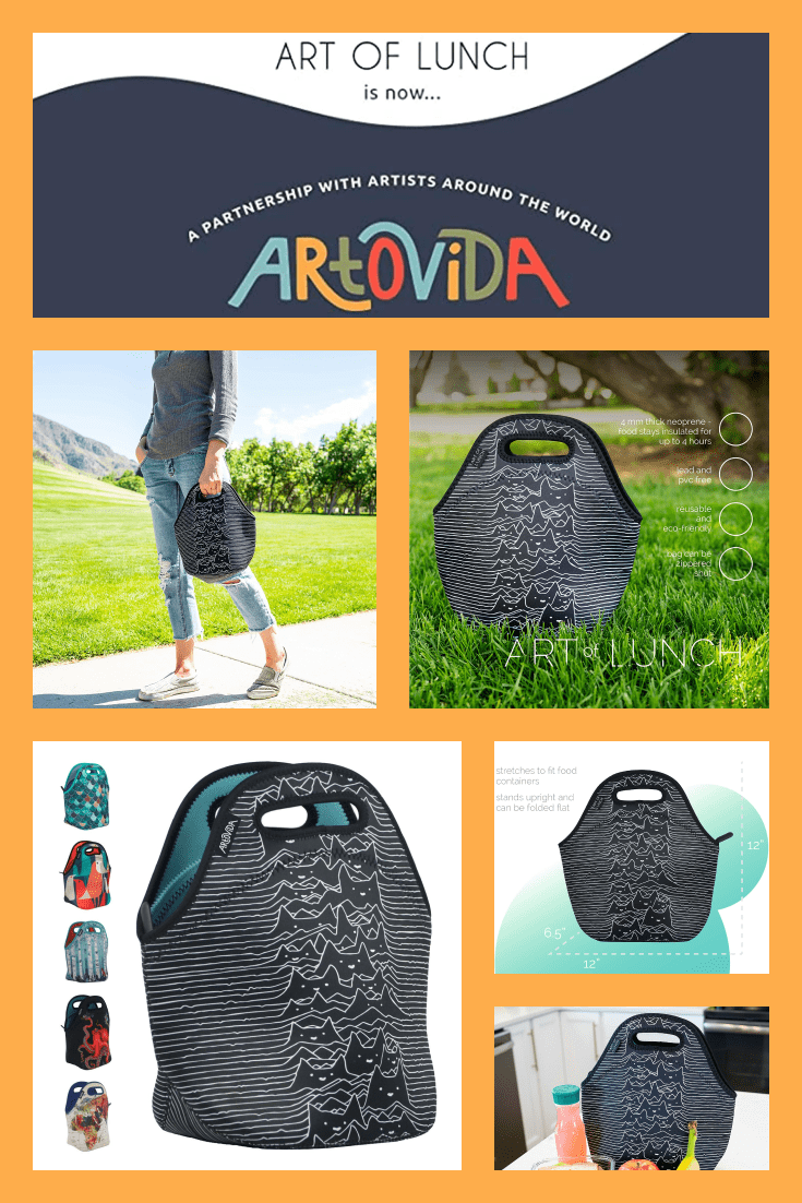 A stylish lunch bag that will keep you both comfortable and full. Made in different colors, so you can adapt it to your style.