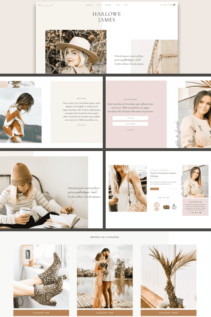 This is strong, modern and pretty template was created for the best portfolio.