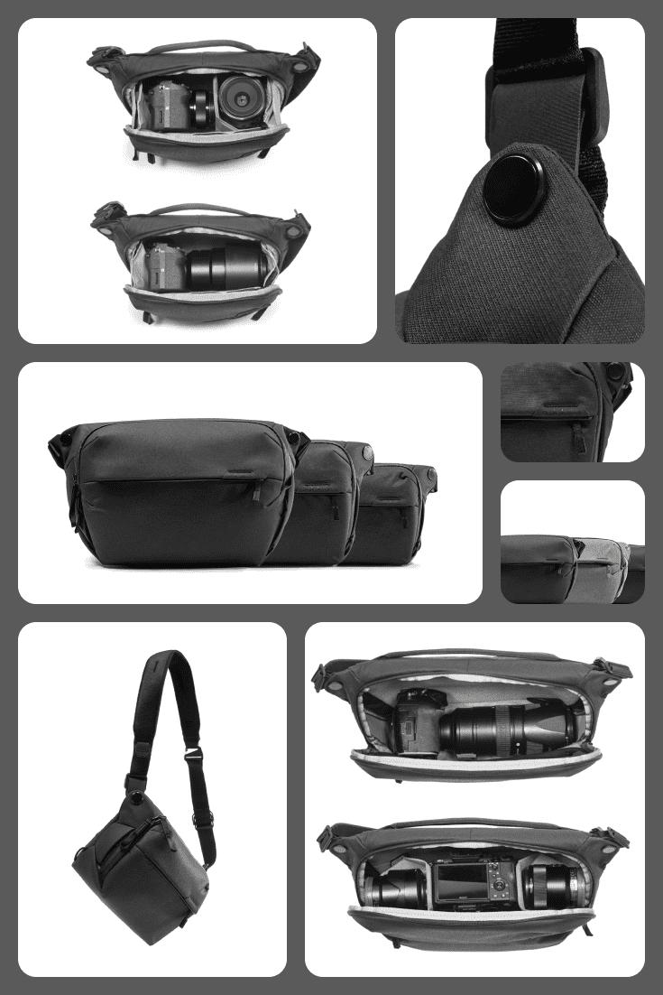 Black camera bag.