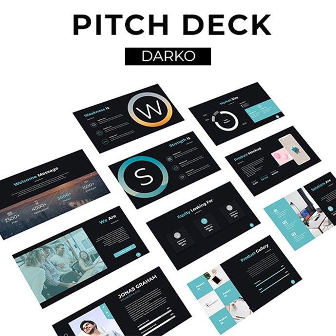 Darko Pitch Deck Examples.