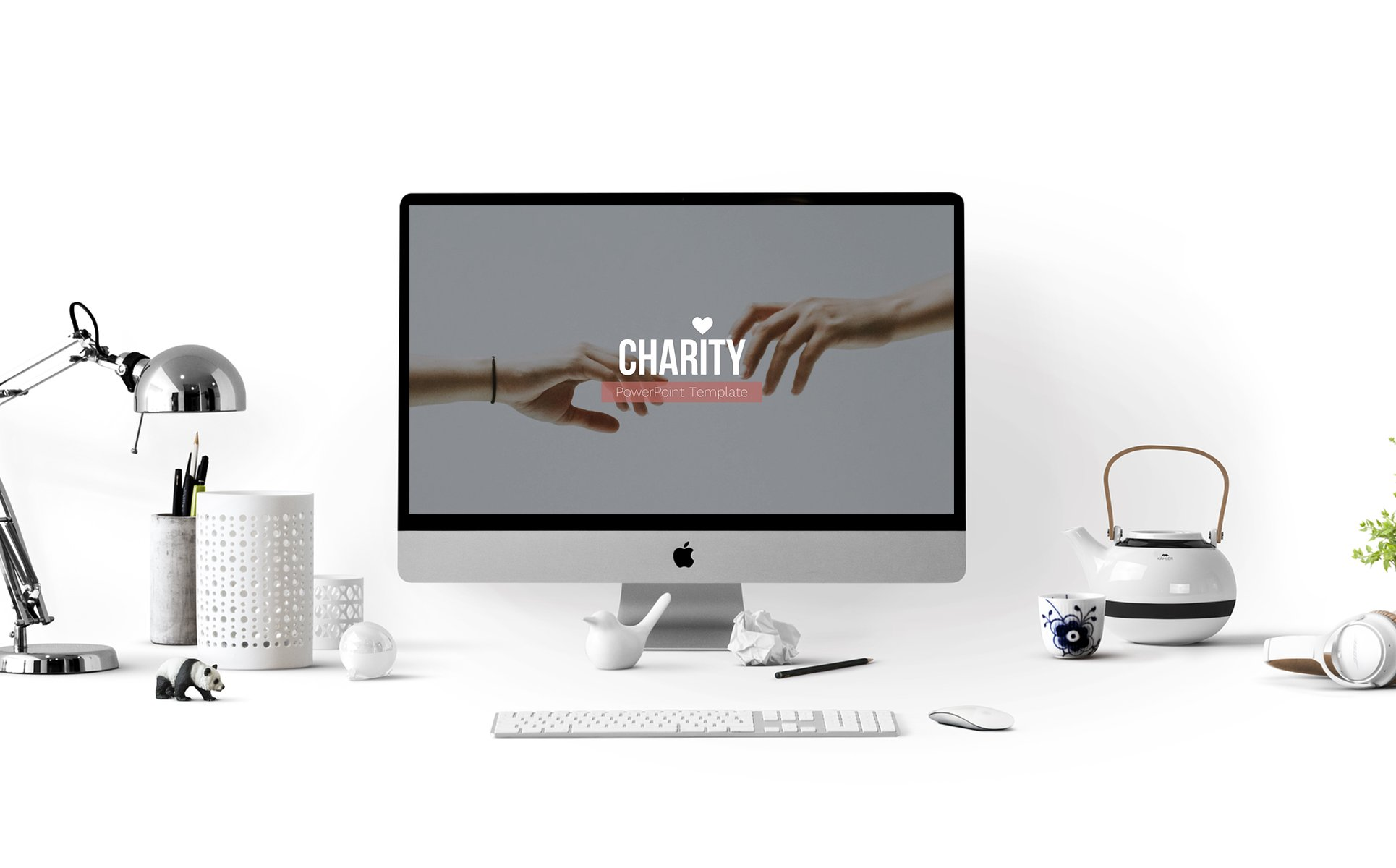 Charity Presentation Template. Slide 1.
