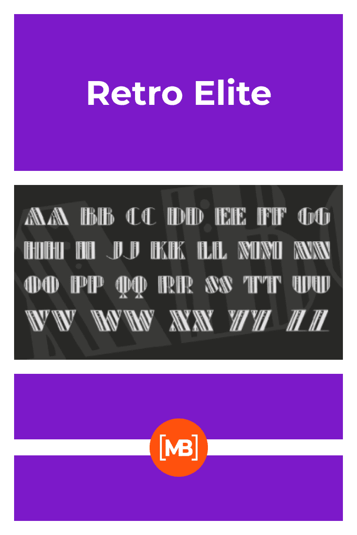 The form is divided into three parts and the font is depicted on a gray background. 90s Fonts.
