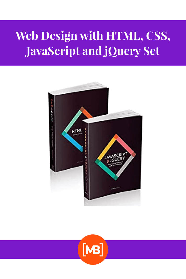 Web Design with HTML, CSS, JavaScript and jQuery Set by Jon Duckett. Cover Collage.