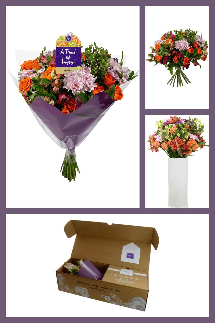 A beautiful and original bouquet.