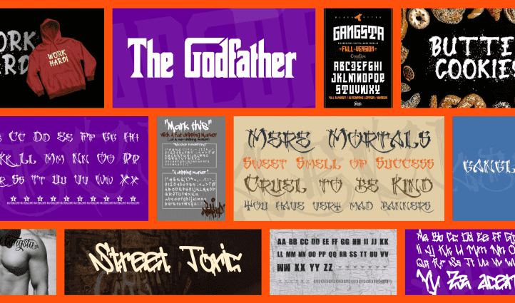 10 Inspiring Free Gangster Fonts Examples.