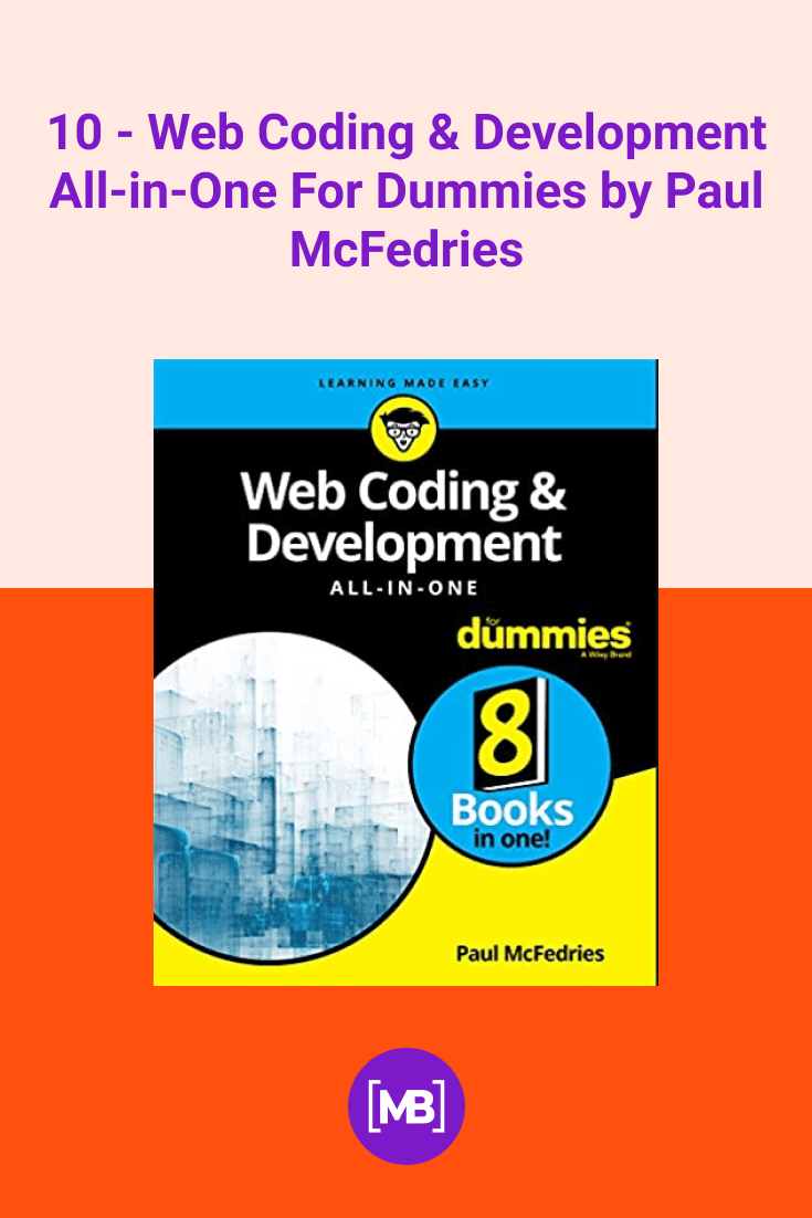 Web Coding & Development All-in-One For Dummies by Paul McFedries. Cover Collage.