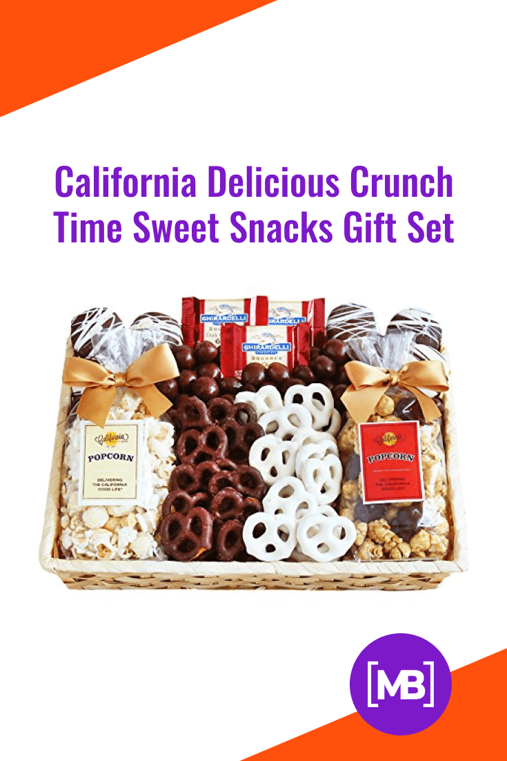 A set of delicious snacks.