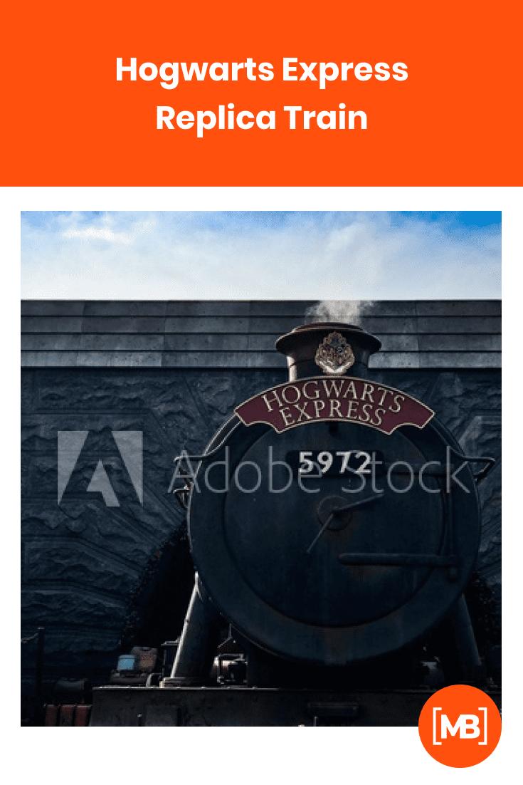 Hogwarts Express Replica Train.