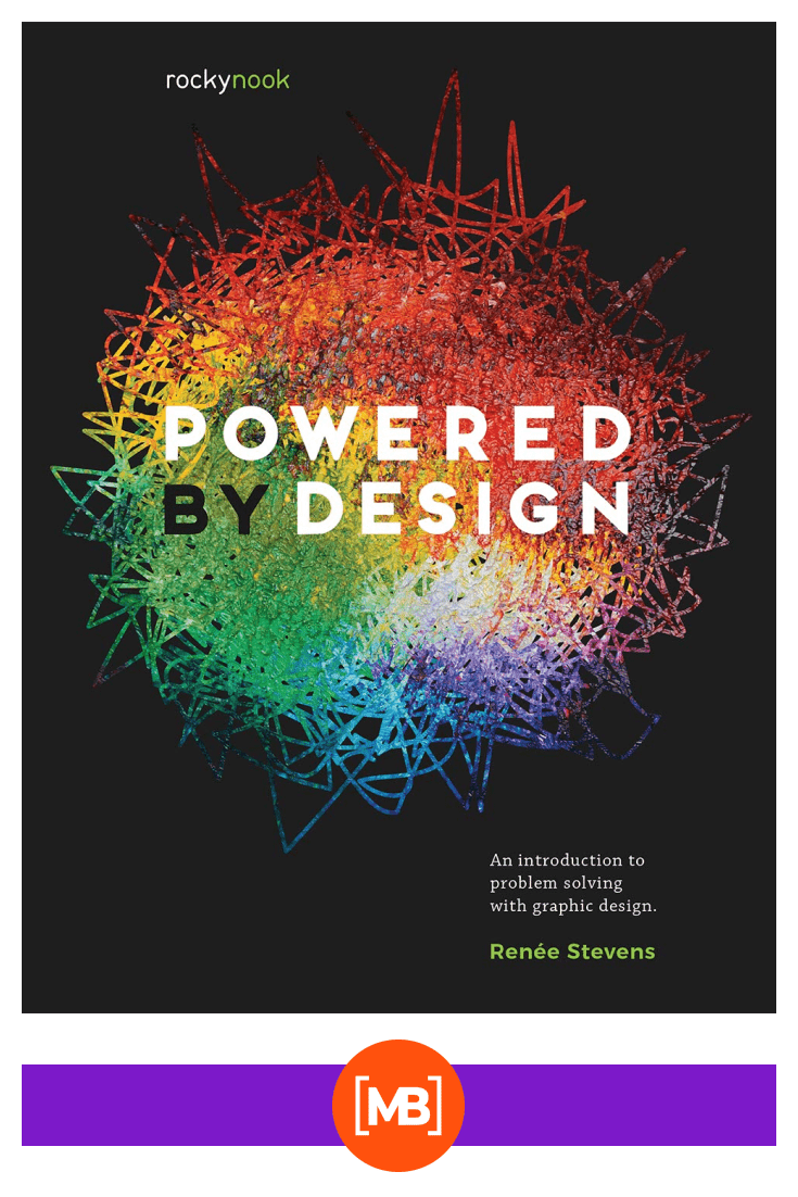 Powered by Design: An Introduction to Problem Solving with GraphicDesign. Cover Collage.
