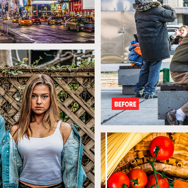 120 Professional HDR Photoshop Actions