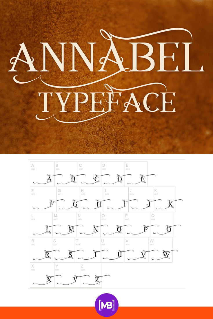 The font is presented in two planes - on a gold texture and as an alphabet. 90s Fonts.
