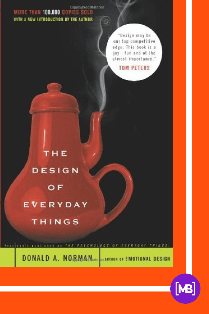 The Design of Everyday Things by Donald A. Norman. Cover Collage.