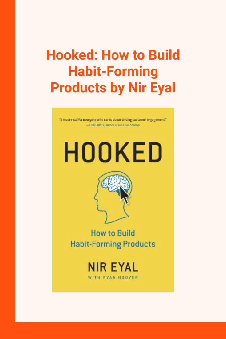 Hooked: How to Build Habit-Forming Products by Nir Eyal. Cover Collage.
