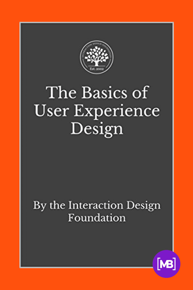 The Basics of User Experience Design: A UX Design Book by the Interaction Design Foundation by Mads Soegaard. Cover Collage.