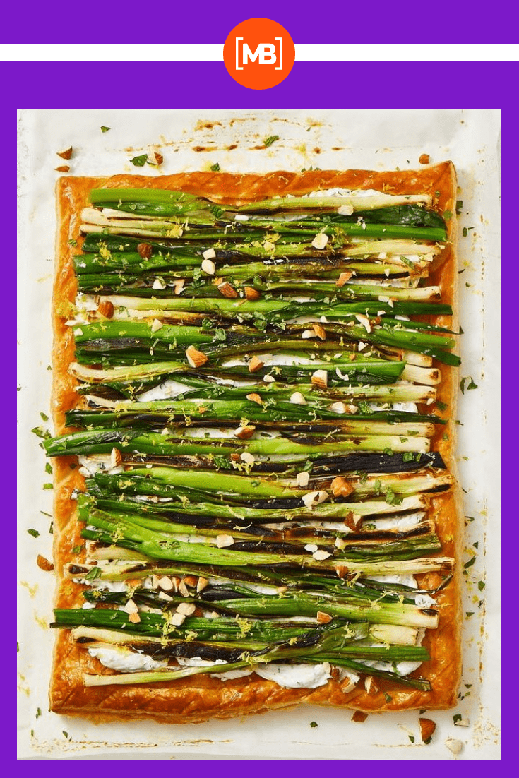 Onion tart is a delicacy that will become your favorite.