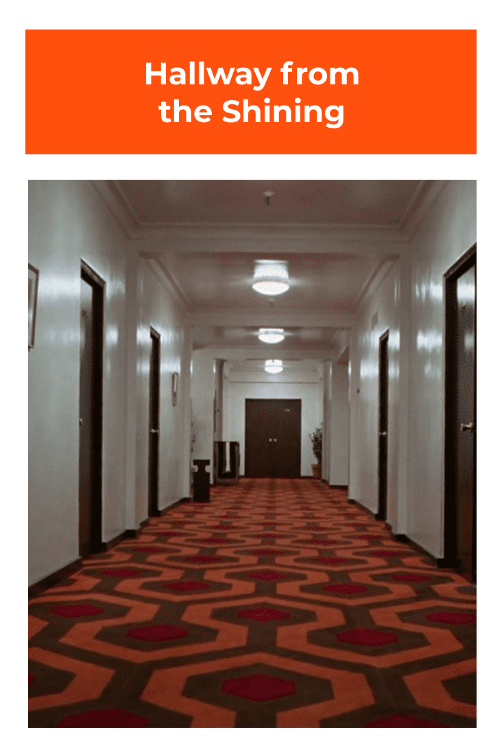 Hallway from the Shining.