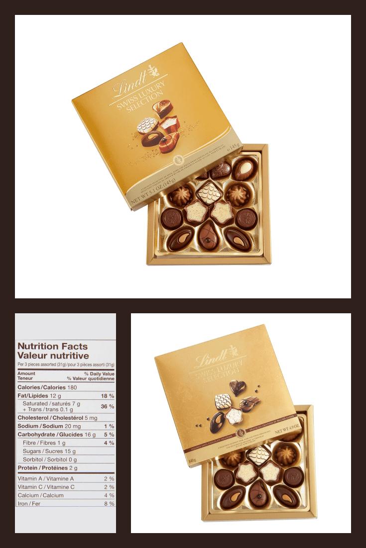 Set of premium sweets.