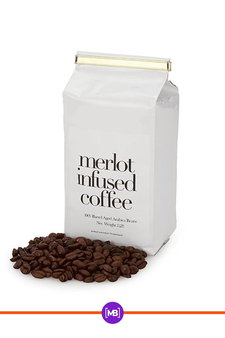 Exclusive coffee packaging.
