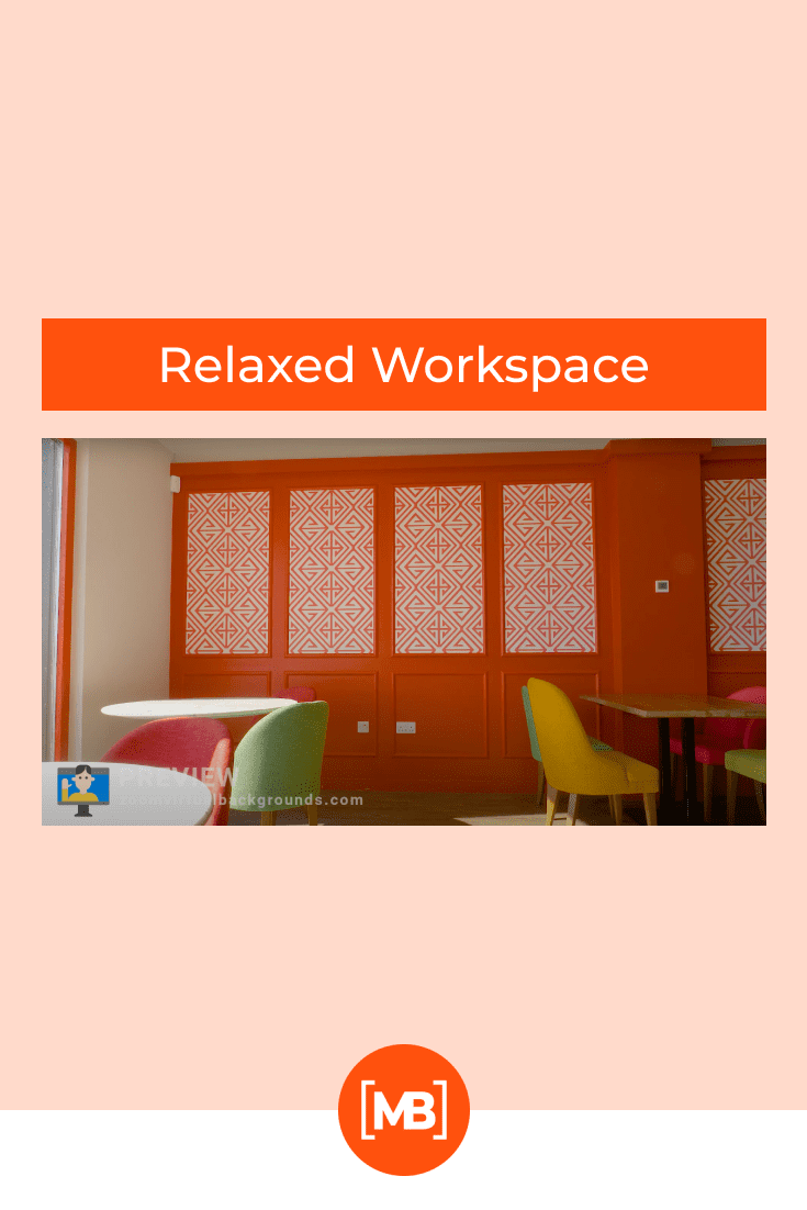 A vibrant coworking space, in which you have always dreamed of visiting, but never succeeded.