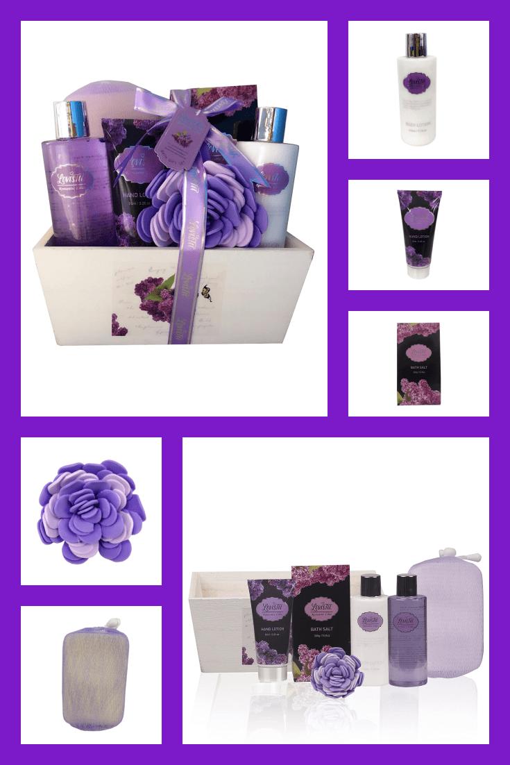 Purple scent set.