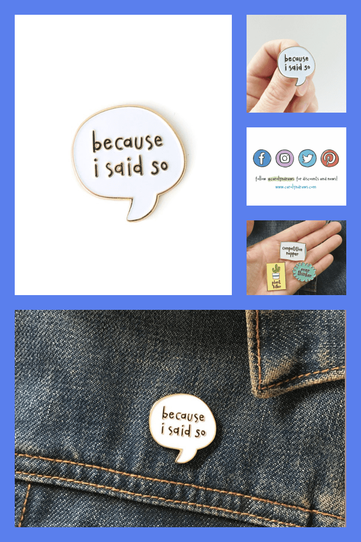 Stylish badges with inscription and icons of popular social networks.