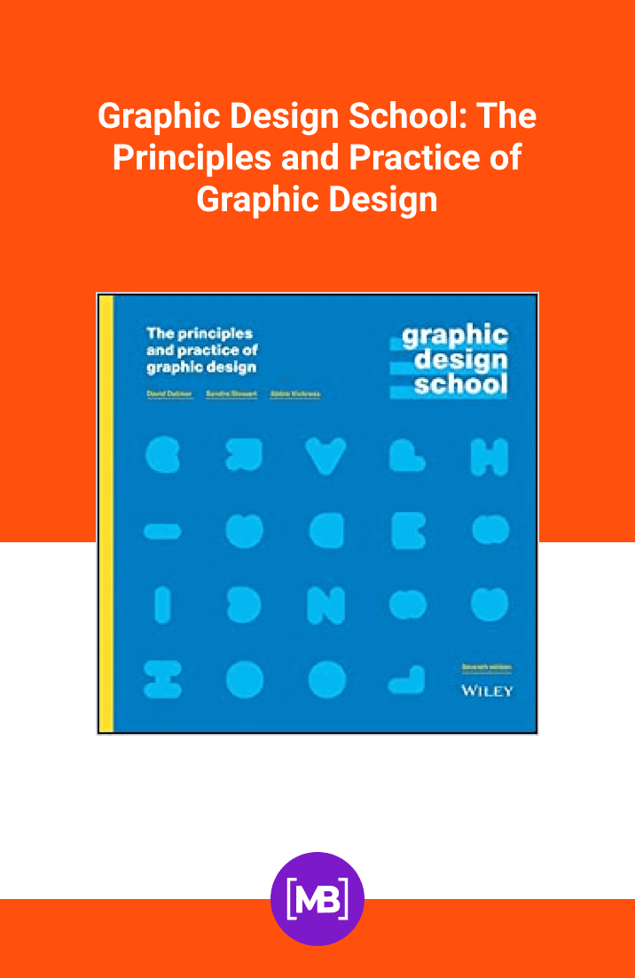 Graphic Design School: The Principles and Practice of Graphic Design by David Dabner, Sandra Stewart, Abbie Vickress. Cover Collage.
