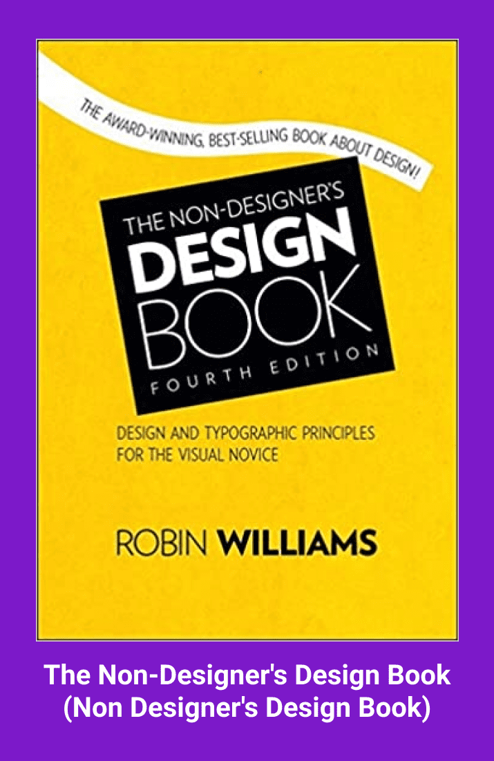The Non-Designer's Design Book by Robin Williams. Cover Collage.