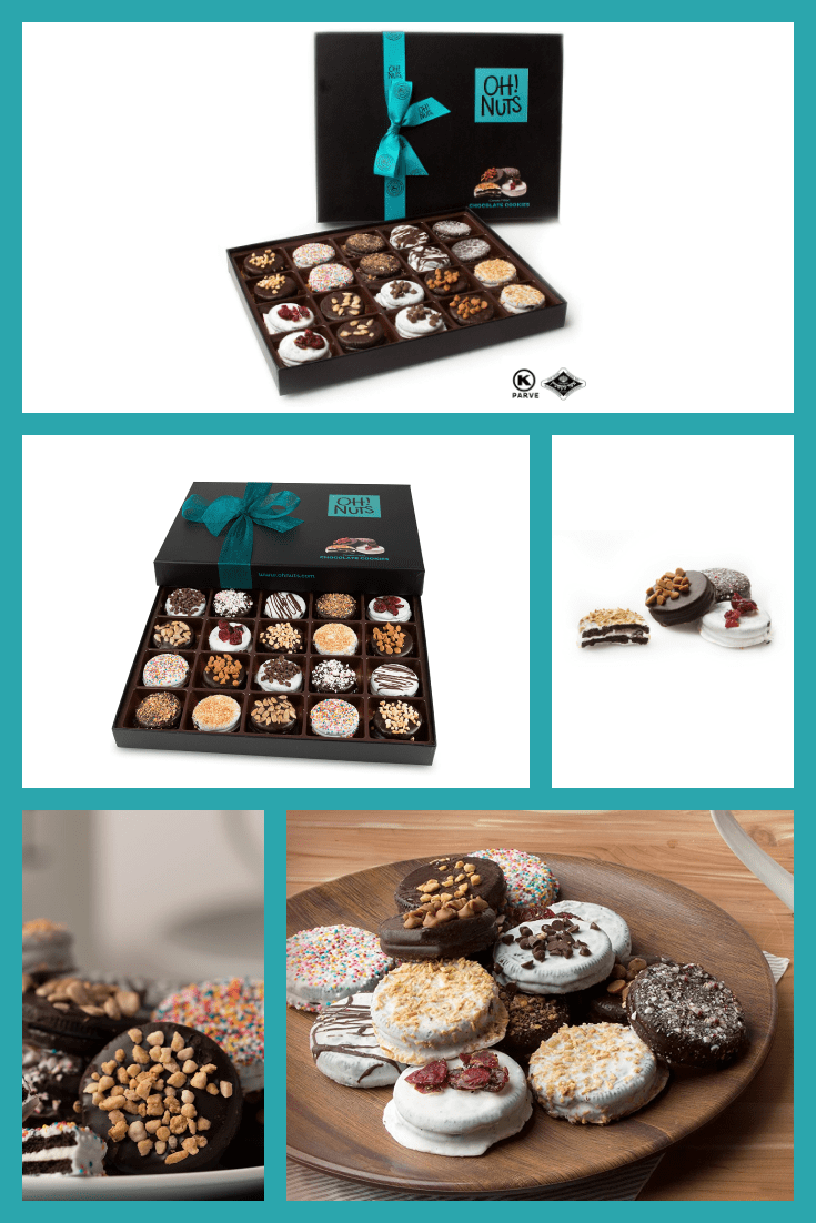 Exclusive cookies with decor.