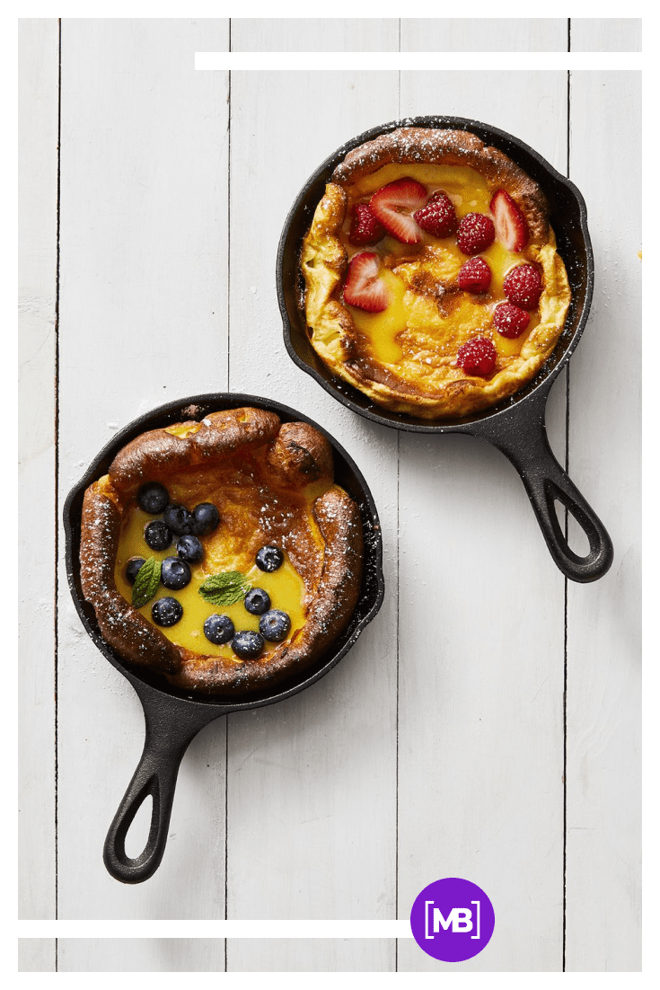 Dutch Baby. Such a simple and delicious pie recipe.