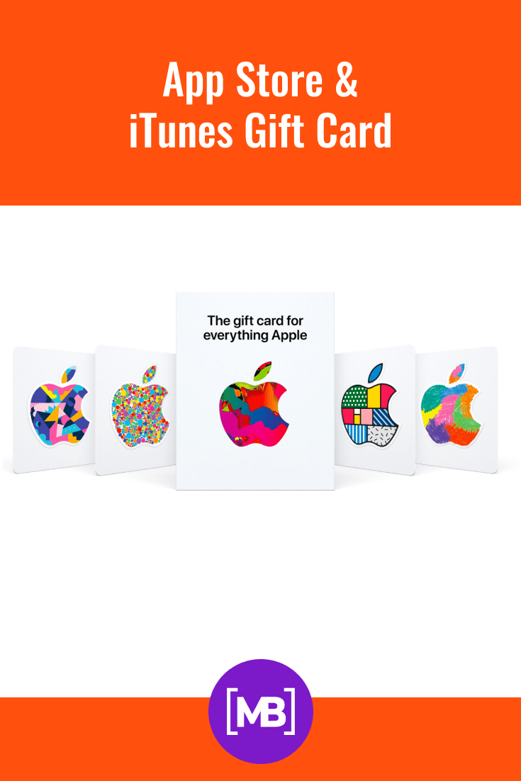Gift card for any app from Apple.