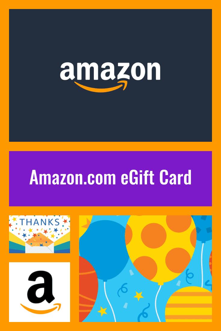 Amazon.com eGift Card.