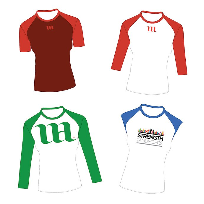 Large selection of women's longsleeves, T-shirts and raglans. Raglan Women's Shirt Bundle.