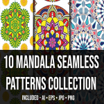 Mandala Seamless Patterns Collection_Main