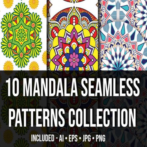 Mandala Seamless Patterns Collection_Main