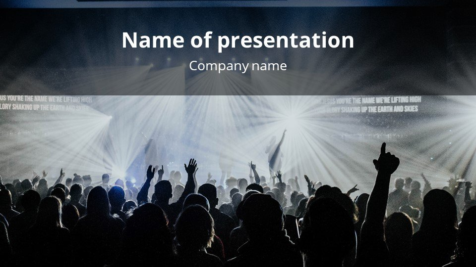 This is such a beautiful template.Energy - Free Background Worship Music for Powerpoint.