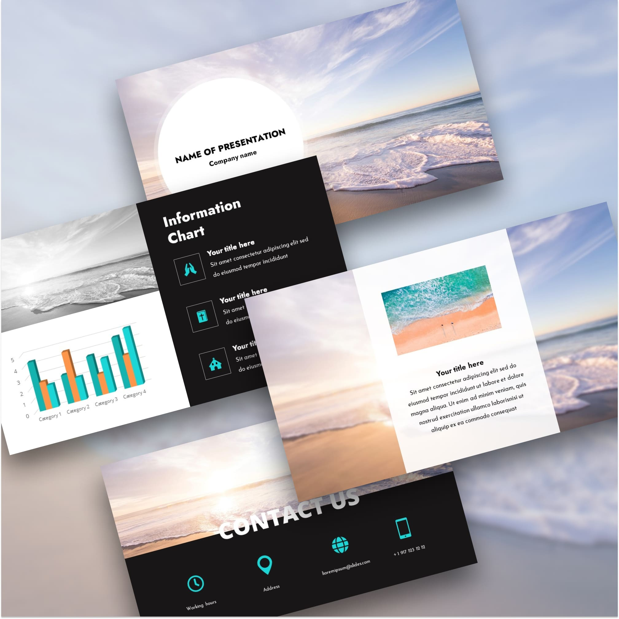 beach background powerpoint for worship