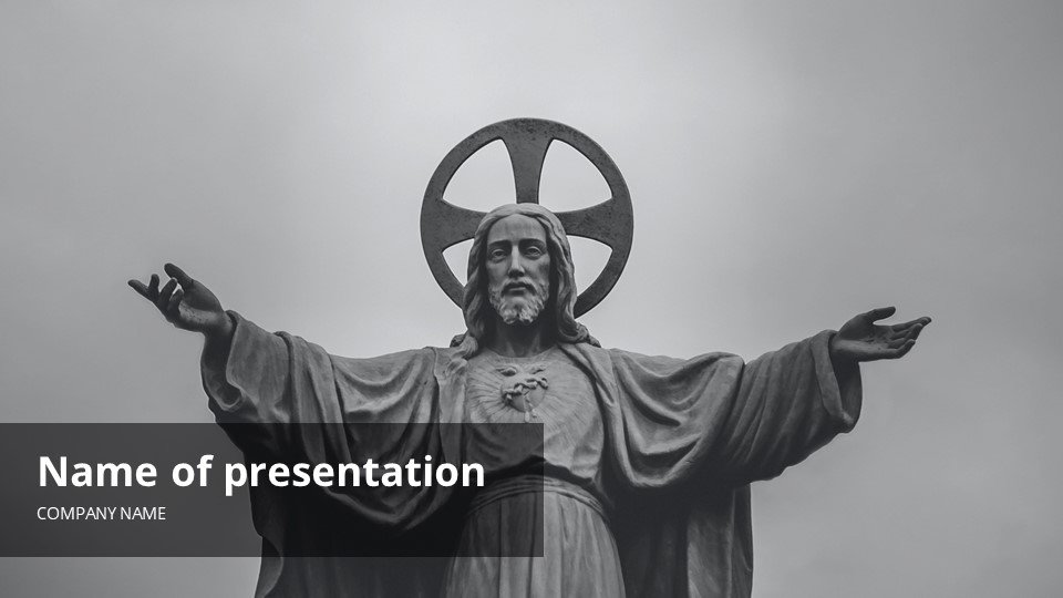 This is such a beautiful template.Beatification - Free Blessed Worship Background Powerpoint.