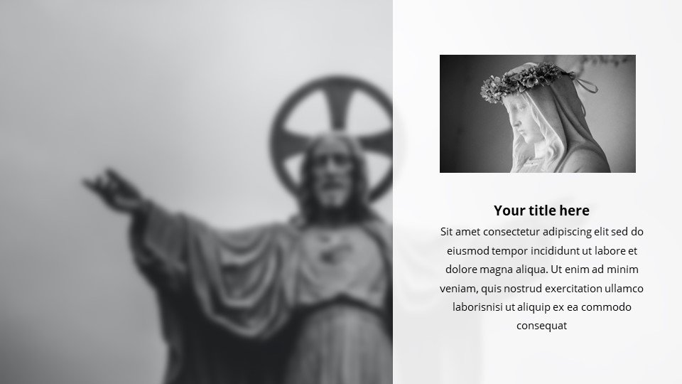The template will fit any theme. Design flexibility will allow you to display any topic in the best possible light.Beatification - Free Blessed Worship Background Powerpoint.
